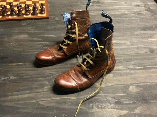 John Fluevog Leather Boots 10