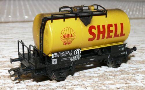 S36 Märklin da Set 48541 Caldaia Carrello Belgian Shell CALDAIA inquinato
