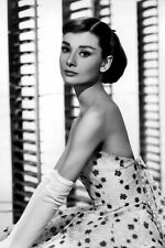 New 5x7 Photo: Golden Age of Hollywood Movie Film Star Actress Audrey Hepburn