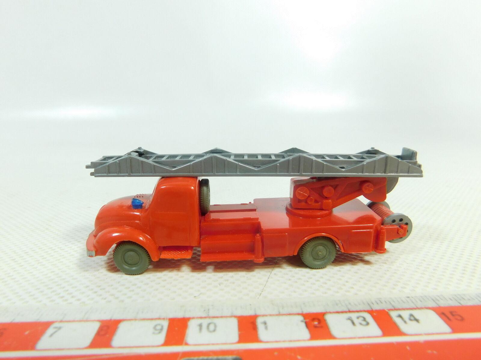 BH747-0,5  Wiking H0  1 87 Model Leiterwagen Magirus; 620 14 unverglast