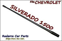 Fits: 1985-2005 Chevy Silverado 1500 - 13 Short Flexible Rubber Antenna Mast