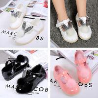 Fashion Girls Children Party Summer Fur Sandals Infant Dance Ballet Shoes Size