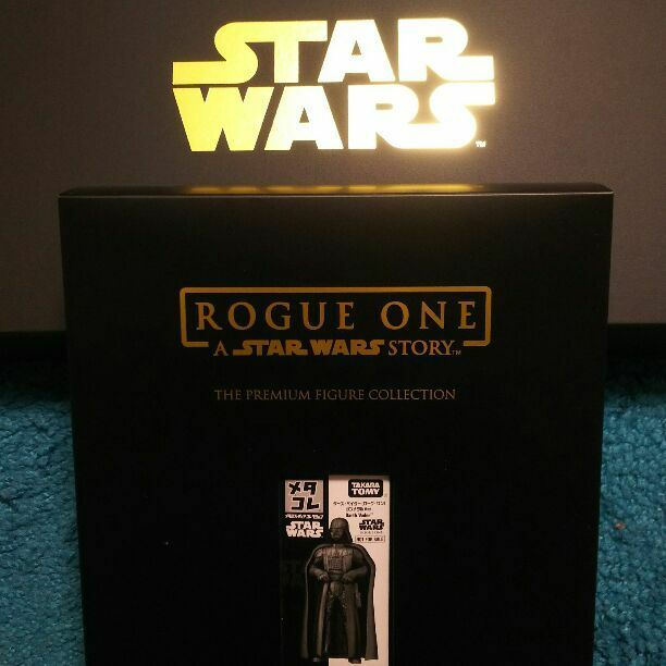Star Wars Rogue One Darth Vader Metal Collection Premium Figure Set LTD RARE