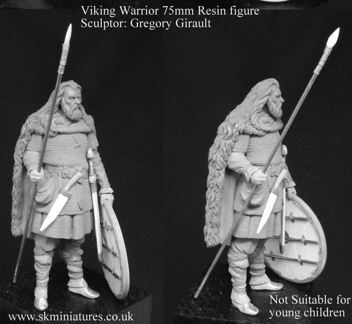 SK Miniatures Viking Warrior 75mm Unpainted Kit