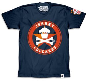 Johnny Cupcakes (Men's) T-Shirt  Bakeball World Champs Star 17'
