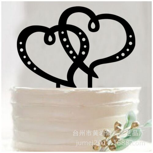 Acrylic Wedding Engagement Anniversary Occasion Party Topper Pick Decor