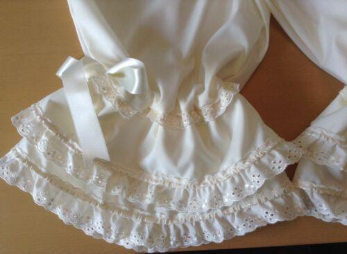 cream long legged cotton bloomers