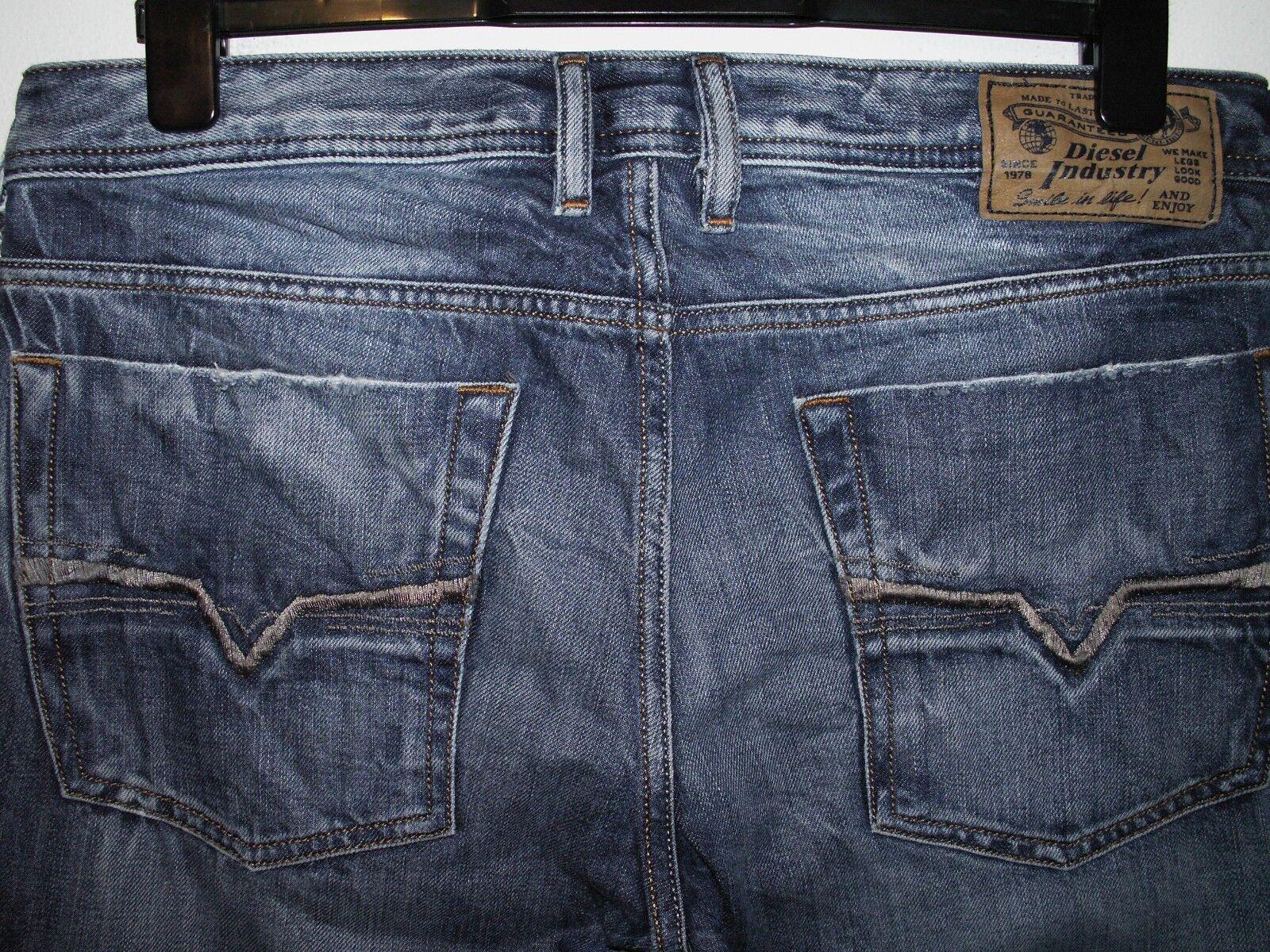Diesel zathan bootcut jeans wash 008B9 W32 L30 (a3941)