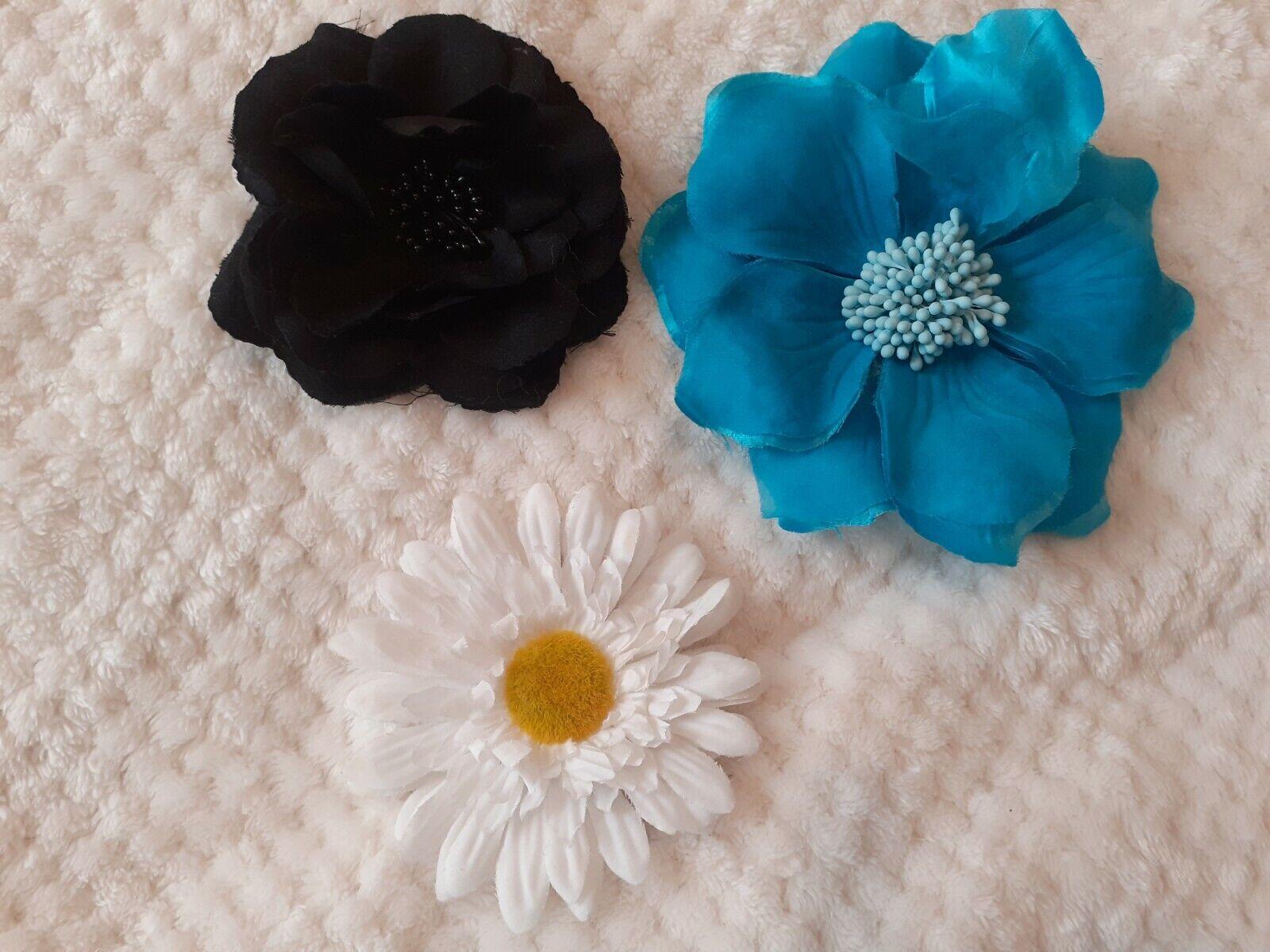 Flower clip on accessories