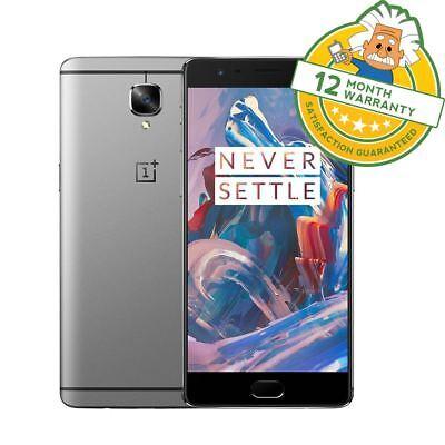 "Oneplus 3T One Plus ThreeT Dual Sim 4G LTE 5.5"" 64GB ROM 16MP Smartphone GRADE B"