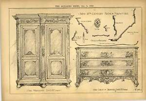 1900 18th Century French Furniture Oak Wardrobe And Chest - <span itemprop='availableAtOrFrom'>Bishop Auckland, United Kingdom</span> - If for any reason you are not satisfied with your item, do let us know. If you wish to return it, you may, within 14 days, and we will issue you with a full refund. Most purchases - Bishop Auckland, United Kingdom