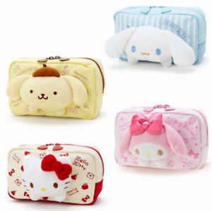 466c70804f Image is loading Japan-HelloKitty-My-Melody-Cosmetic-Bags-Storage-Travel-