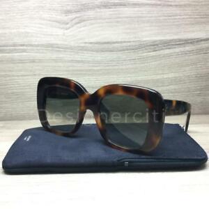 39b5fcd5603d Celine CL 41433/S 41433 Sunglasses Havana 05L XM Authentic 52mm | eBay