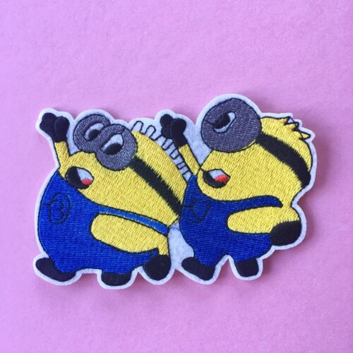 DESPICABLE ME MINIONS CHARACTER EMBROIDERED APPLIQUÉ PATCH SEW OR IRON ON #314
