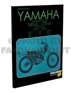 image is loading 1971-1972-1973-yamaha-enduro-shop-manual-100-