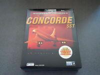 Concorde Sst Add-on Microsoft Flight Sim 98 Win 95/98 Nb Big Box