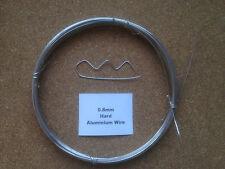 0.8mm x 20m 21SWG Stiff Aluminium Wire Floristry Craft Jewellery Bonsai Model