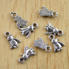 2pcs Tibetan silver hand FINDINGS drops H1064