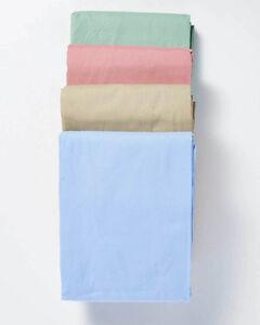 Image Is Loading RMS Oversized Hospital Bed Sheets Sheet Set Flat