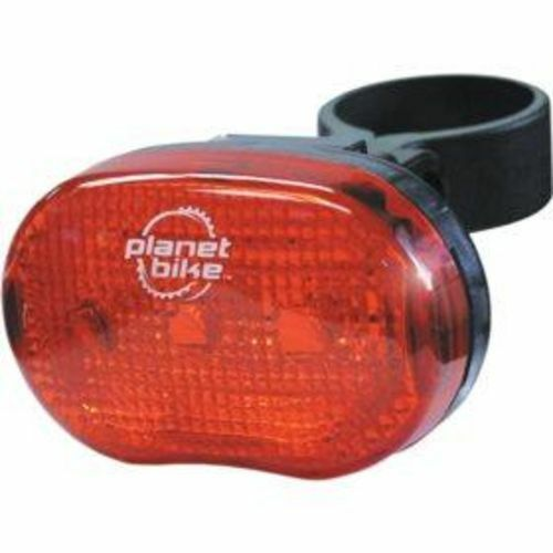 Planet Bike Blinky 3 Taillight,Rear Light w//Batteries