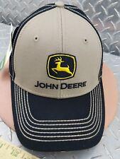 c397cd2b -JOHN DEERE BEIGE CHINO HAT CAP Construction Trademark Logo BRAND NEW VERY  NICE! $19.95. NIKE GOLF ...