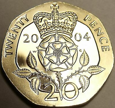 Cameo Proof Great Britain 1992 2 Pence~Welsh Plume~The Mints Best Work~Free Ship