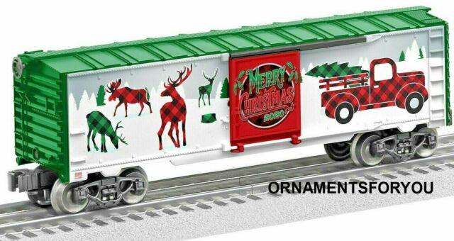 Lionel 2020 Christmas Boxcar Lionel 2020 Christmas Boxcar #2028200 O Gauge for sale online   eBay