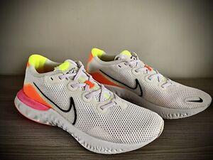 Men-039-s-Nike-rinnovare-Run-Bianco-Arancione-Scarpe-Da-Ginnastica-Misura-UK-9-EU-44-CK6357-100