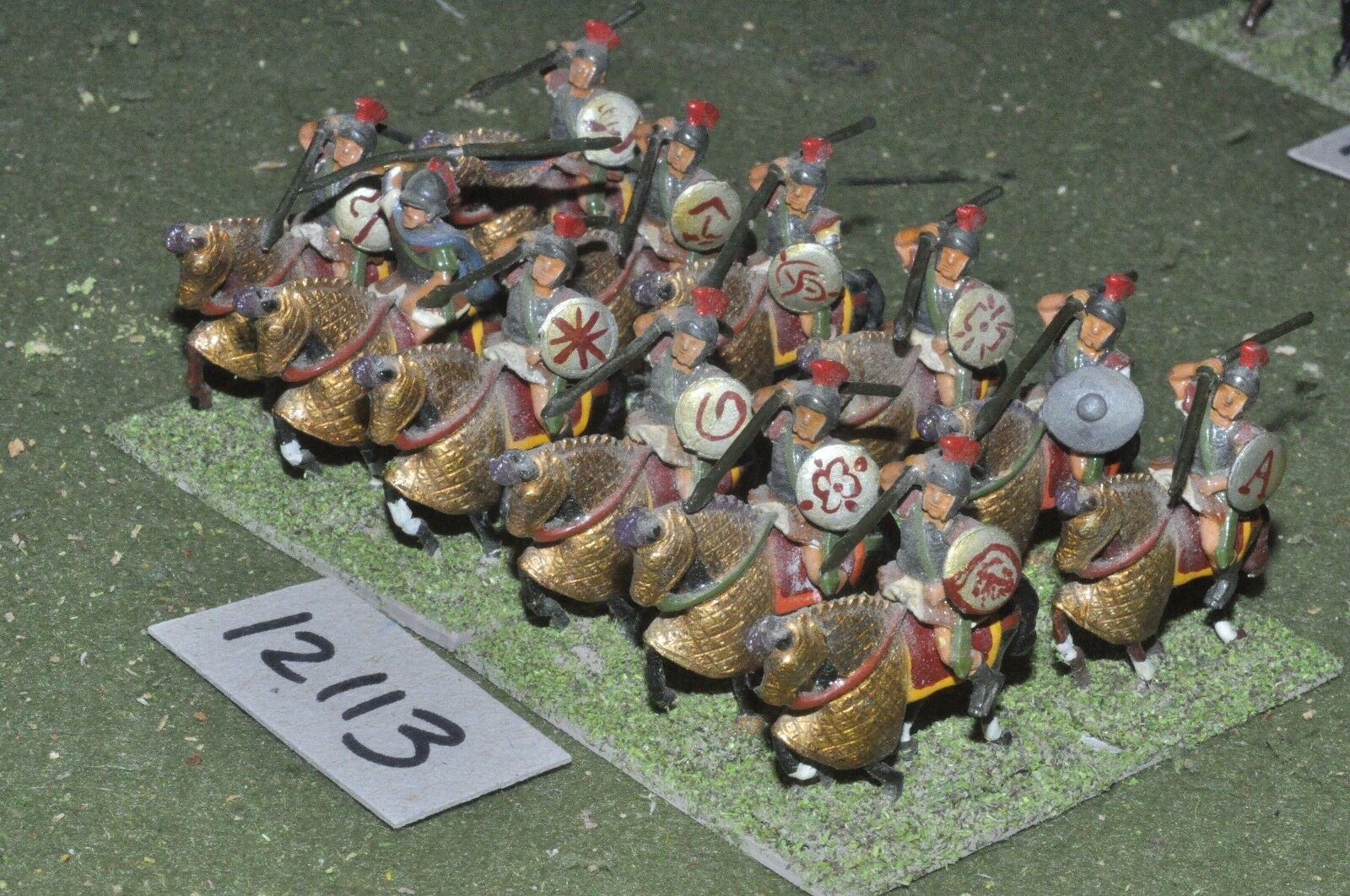 25mm roman era   roman - ancient cavalry 12 cavalry - cav (12113)