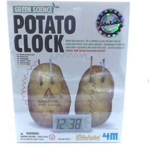 Green-Science-Potato-Clock-Kit-Make-Your-Own-Clock-Kidz-Labs-Age-8-School-Fun