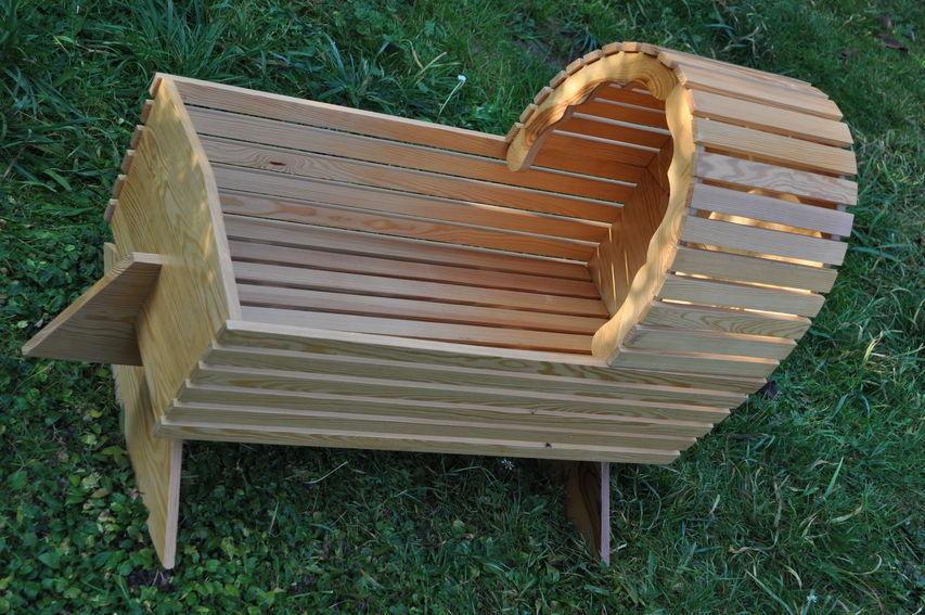 Goße Puppen / Bärenwiege Massiv Holz vom Schreiner angefertigt