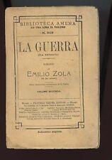 PRE-PRIMA GUERRA MONDIALE WW1 1909 REGNO D'ITALIA WK1 WWI ZOLà VOL.2