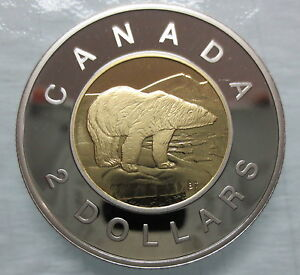 1996-CANADA-TOONIE-PROOF-TWO-DOLLAR-HEAVY-CAMEO-COIN