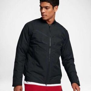 21d335a0be Nike Tech Fleece Aeroloft Bomber Men's Jacket Fill: Minimum 90 ...