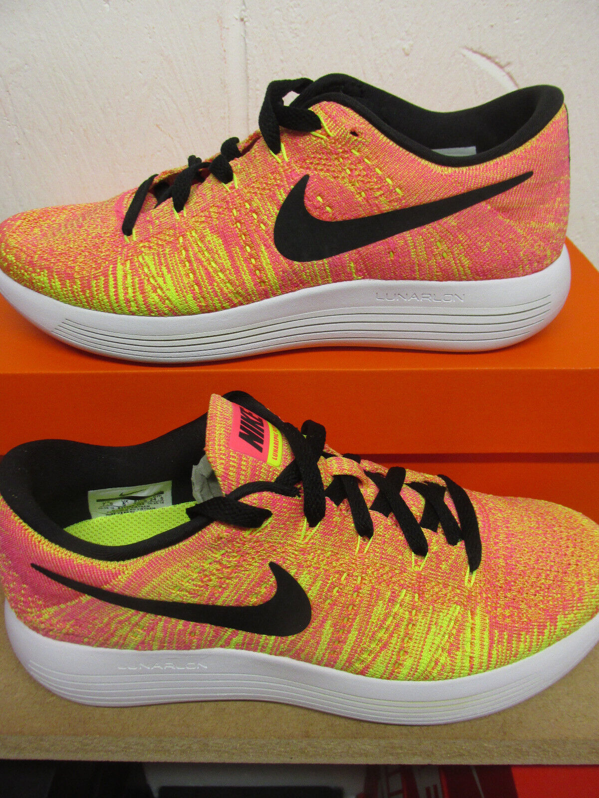 new concept aa9ec 6c940 Nike Womens Lunarepic Low Flyknit OC Running Running Running Trainers  844863 999 Sneakers Shoes e6e526