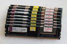 8GB 2x 4GB PC2-5300F Kingston Speicher Ram DELL Poweredge 2950 2900 6950 FB DIMM
