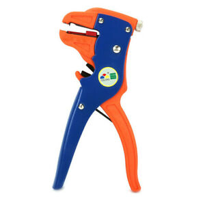 Cable Wire Stripper Automatic Crimper Cutter Adjust for Stripping Plastic Rubber
