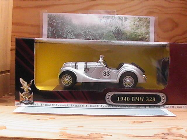 BMW 328  1940 échelle 1 18eme NEUVE Road Legend  Deluxe Edition