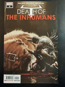 DEATH-of-the-INHUMANS-5a-2018-MARVEL-Comics-VF-NM-Comic-Book