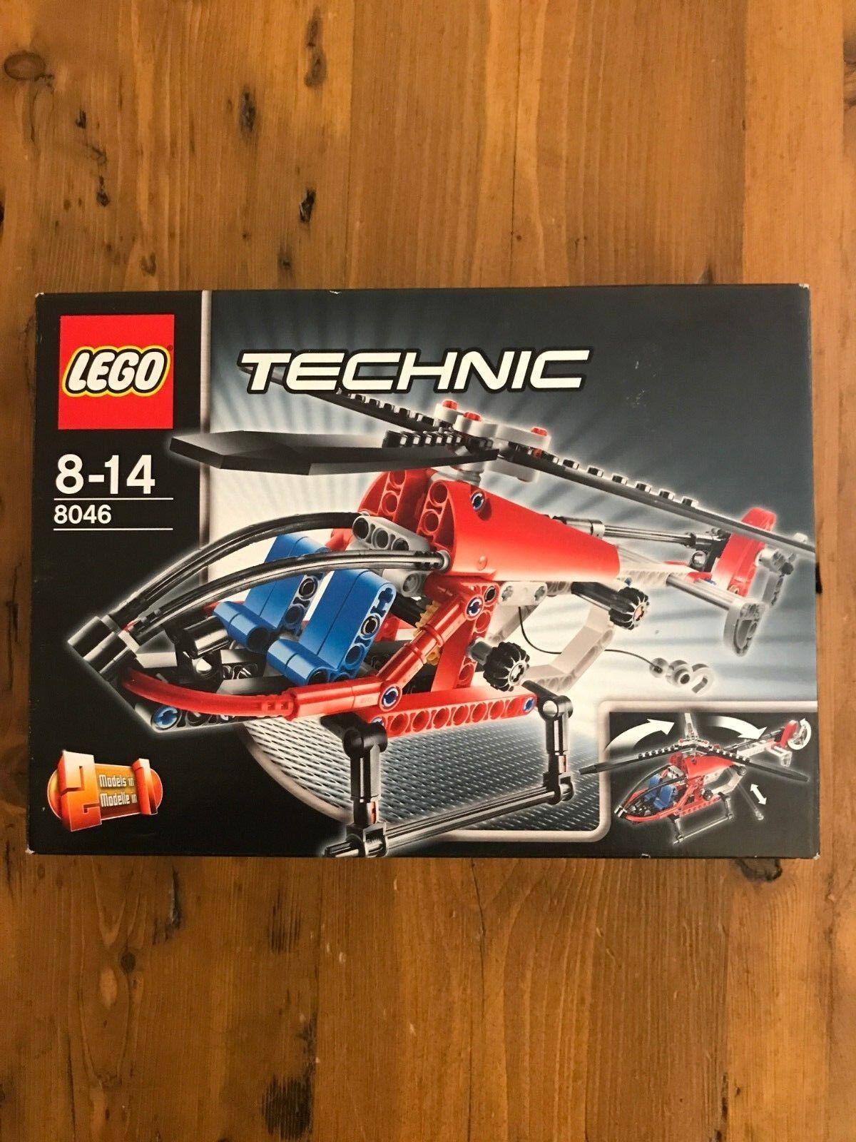 Lego Technic 8046 Hélicoptère Seaplane 2 en 1 NEUF
