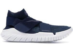 da9260f1f2511 NEW Nike Free Rn Motion Flyknit 2018 Men s Running Shoes Blue Run ...
