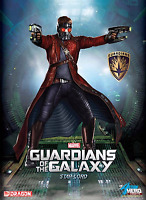 Dragon Models Guardians Of The Galaxy - Star Lord Action Hero Vignette Figure