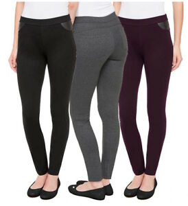 36af0445898d9 DKNY Womens Pull-On Ponte Pant Mid-Rise Flattering Stretch Skinny ...