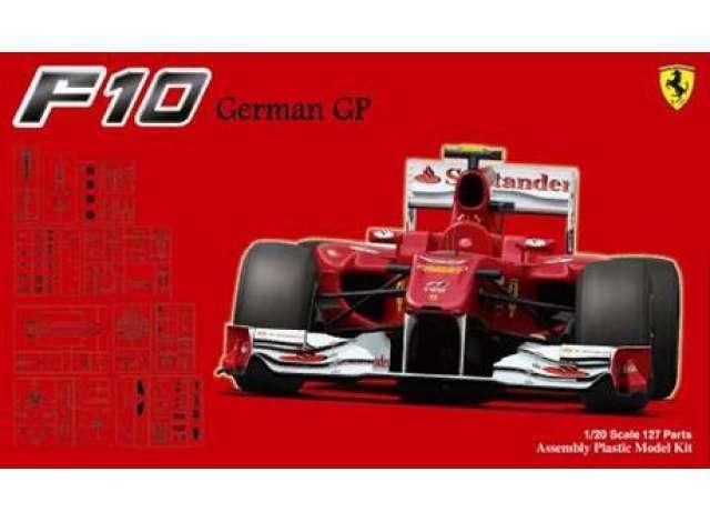 Fujimi 090948 Ferrari F10 Gerhomme Gp 1 20  Modélisme  pour pas cher