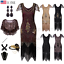 Art-Deco-1920s-Vintage-Flapper-Beads-Gatsby-Wedding-Party-Evening-Cocktail-Dress