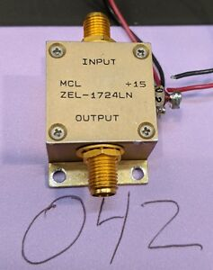 Details about LNA Amplifier 1000-2500 MHz Mini-Circuits ZEL-1724LN Tested  Guaranteed (A42)