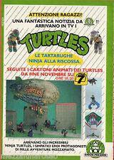Pubblicità Advertising 1989 GIOCHI PREZIOSI Tartarughe Ninja