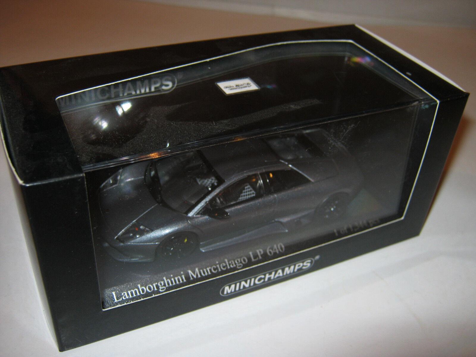 1 43 Lamborghini Murcielago LP640 LP640 LP640 greymet 2006 L.E. MINICHAMPS 400103920 OVP new 1a4080