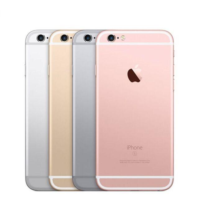 Apple iPhone 6S Rose Gold/Grey/Silver 16GB-32GB-64GB-128GB Unlocked-A1688 iOS 13