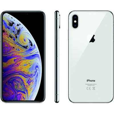 APPLE IPHONE XS MAX 64GB ARGENTO VIDEO 4K DISPLAY GARANZIA 24 MESI HD 6.5